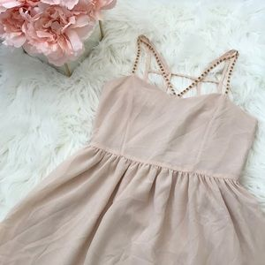 Beaded Strapped Dress